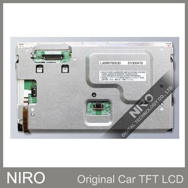 Автомобильный TFT ЖК-дисплей мониторы 6,5 дюймов ЖК-дисплей Панель Дисплей LQ065T5DG30 с Сенсорный экран