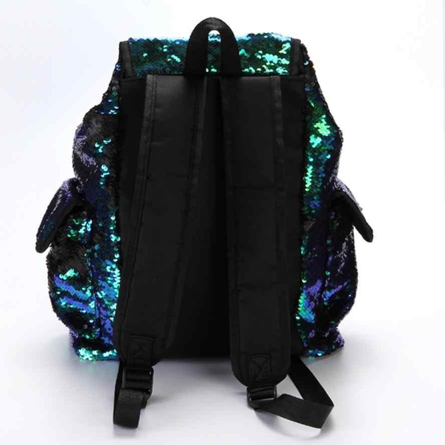f7347c12786c ... Модные женские сумки для девочек блестки рюкзак блестка Досуг школьные  портфели 4 Тип рюкзак дамы сумки