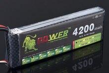Bateria lipo da alimentação 7.4 v 4200 mah 25c 2 s do leão com tomada de t/xt60/jst para a bateria do lipo dos helicópteros 7.4 v 4200 mah 2 s do avião do carro