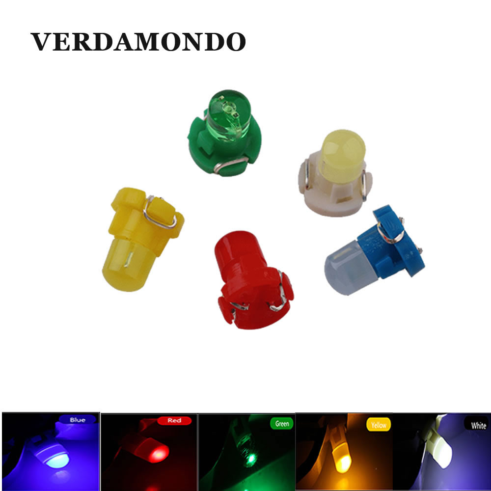 T3 LED Instrument Light Auto Car Interior Lighing Bulbs DC 12V Automobiles Car-styling White Blue Red Green Yellow
