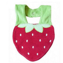 strawberry pattern bibs baby towel cotton bibs buckle fashion bibs novelty kawaii bibs chicco biberon #F#3ot26(China)