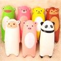 1 UNIDS 15 CM Jumbo Blando Ikiru y amigos Almohada Mano de Dibujos Animados Panda Mono Tigre Ovejas Pan Divertido Juguete libre gratis