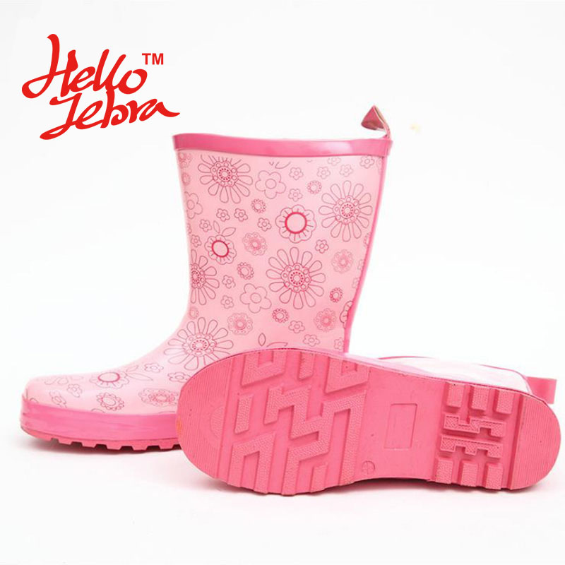 Popular Floral Rain Boots-Buy Cheap Floral Rain Boots lots from ...