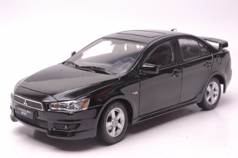 1:18 Diecast Model for Mitsubishi Lancer EX EVO 9 Black Alloy Toy Car Collection Gifts Evolution