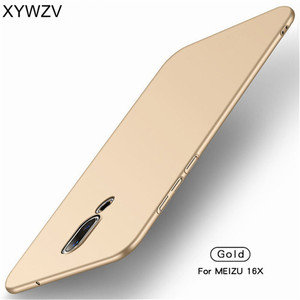 Image 3 - Meizu 16 X Case Silm Luxury Ultra Thin Smooth Hard PC Phone Case For Meizu 16 Back Cover For Meizu 16X Full Protection Fundas *