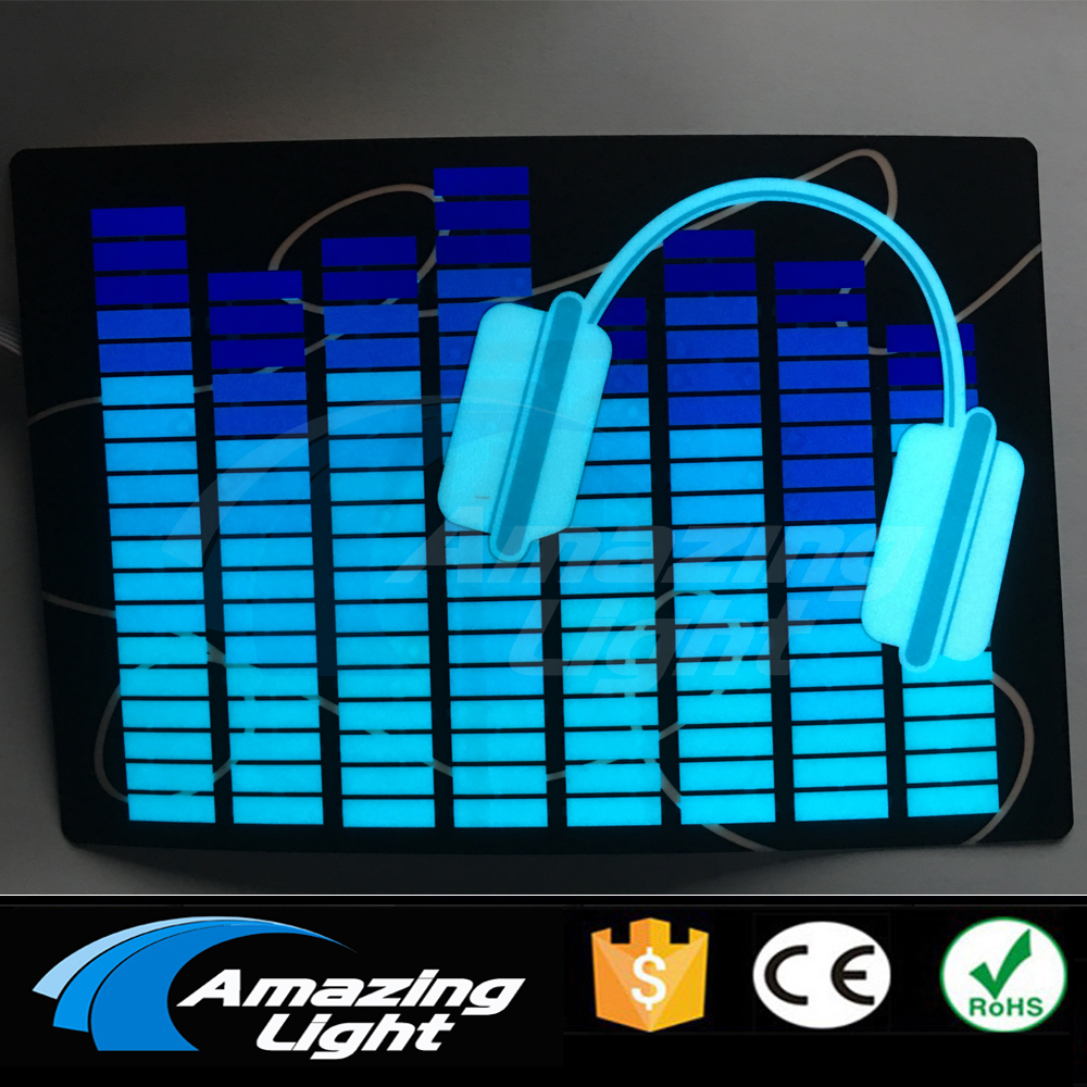 Perfect Blue Headphone Equalizer Panel Sound Active Equalizer Panel With Inverter Free Shipping