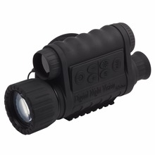 Bestguarder WG-50 HD night vision Infrared Night Vision Monocular IR Telescope 6×50 Zoom Record thermal night vision monocular
