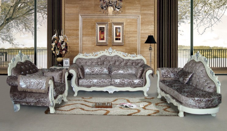 high quality modern Germany living room funiture for fabric sofa ...