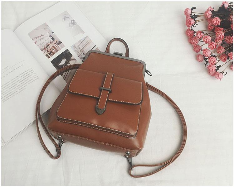 HTB13uw9eJHO8KJjSZFHq6zWJFXaA LEFTSIDE Brand 2018 Retro Hasp Back Pack Bags PU Leather Backpack Women School Bags For Teenagers Girls Luxury Small Backpacks