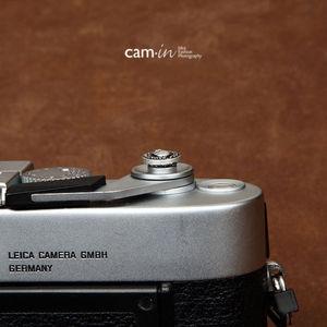 10 мм Кнопка спуска затвора для Fujifilm X-E3 XE3 X100F X100T X100S X100 X30 X20 X10 CAM9111 skull