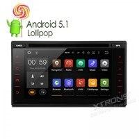 Xtrons 6.2 android5.1 в тире 2 дин dvd плеер аудио HD touch Экран 1080 P Видео Wi Fi GPS стерео OBD2 для Nissan