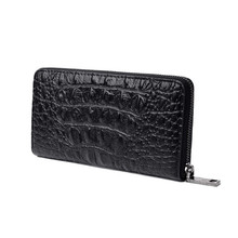 Women Wallet Female Coin Purses Holders Genuine Leather 3D Embossing Alligator Ladies Crocodile Long Clutch Bags