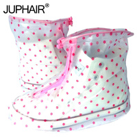 JUP Reusable Waterproof Overshoes Shoe Covers Shoe Protector Men Women Rain Cover Shoes Accessories PVC Waterproof