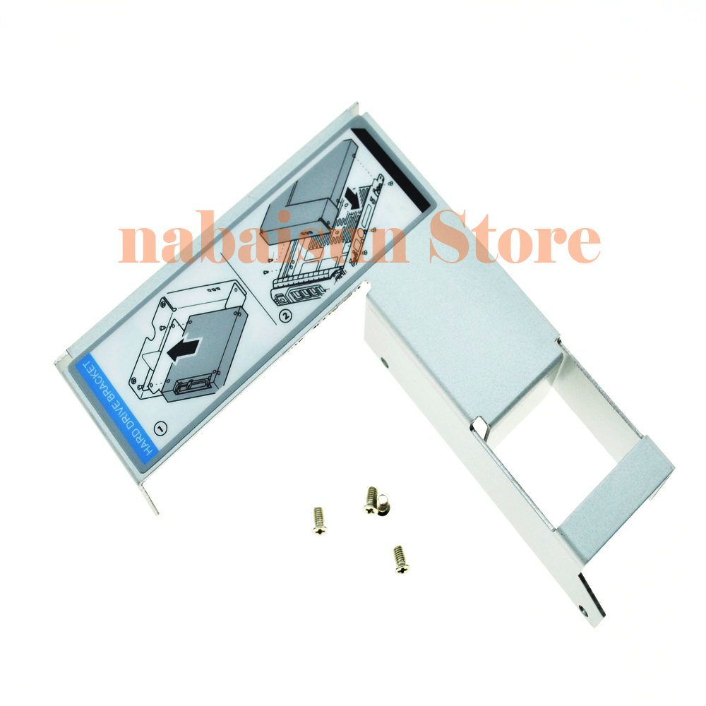 "Dell 3.5/"" to 2.5/"" Adapter for F238F D981C X968D SAS//SATA Tray Caddy 9W8C4 Y004G"