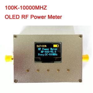 Image 1 - 100 KHZ 10000 MHZ OLED RF Power Meter+ Sofware RF Attenuation Value
