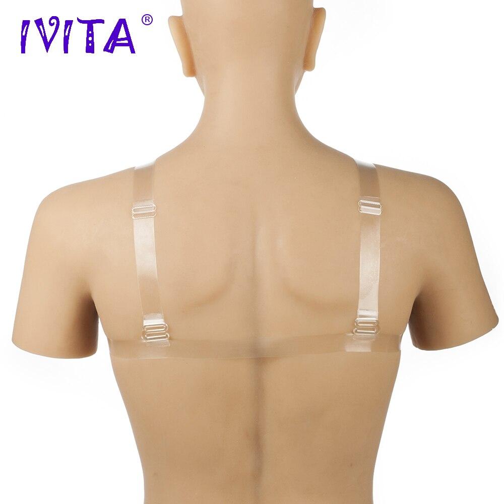 Alças de Ombro para Cosplay Mastectomia Bra Ivita 1800g de