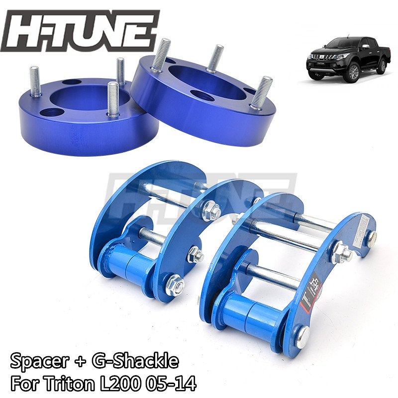 Attent H-tune 4x4 Accesorios 32mm Front Spacer En Achter Extended 2 Inch G-ketenen Lift Up Kits 4wd Voor Triton L200 Mk Ml 06-14