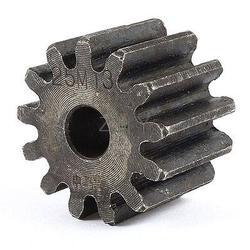 Gris 10mm x 37mm x 25mm módulo 2,5 13 dientes Metal rueda de engranaje de estimulación recta