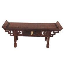 Vintage 1/6 chino Lute mesa final muebles de mesa para juguetes calientes/Blythe/BJD casa de muñecas Accesorios