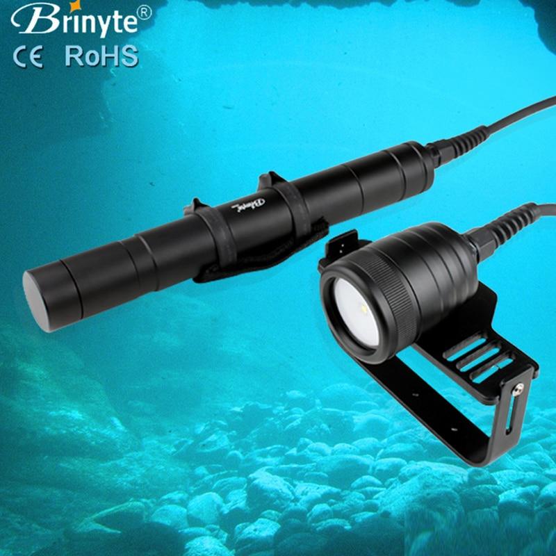 Diving Light 1000 LM CREE XM-L2 Dive video Flashlight Lamp Underwater 200m Waterproof photography Diver Torch Lanterna DIV09V