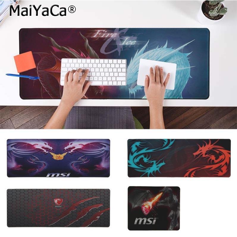 MaiYaCa Beautiful Anime Red Dragon Series Comfort Mouse Mat Gaming Mousepad Rubber PC Computer mousepad