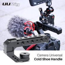 UURig Camera uniwersalny uchwyt na zimne buty uchwyt zewnętrzny Monitor mikrofon wypełnij światło dla DSLR Nikon Canon Sony Playstation 4