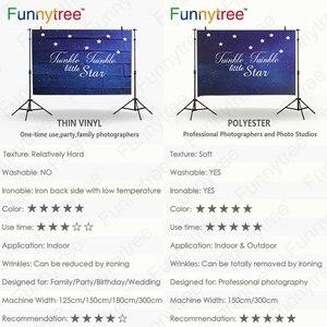 Image 4 - Funnytree ספארי רקע ג ונגל חיות מצוירות מסיבת יום הולדת קינוח שולחן דקור ילדי צילום רקע שיחת וידאו