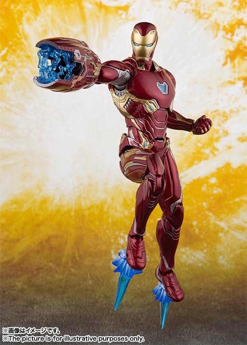 S.H.Figuarts SHF Marvel Avengers Infinity War Iron Man Mk42 43 50 Action Figure