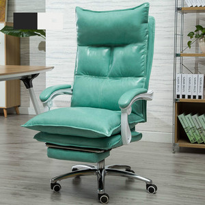 Image 3 - Luxueux confortable à la maison ordinateur chaise de bureau couché ancre chaise pivotant ascenseur canapé siège avec main courante mobilier de bureau 5 couleurs