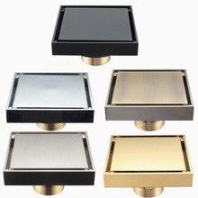 真鍮シャワー排水浴室床ドレンタイル挿入平方抗臭床廃棄物すのこ 100X100 DR187