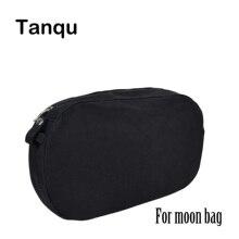 Tanqu لون نقي نسيج قماشي مقاوم للمياه الداخلية جيب بطانة ل omyun Obag إدراج منظم ل O حقيبة O Moon Classic