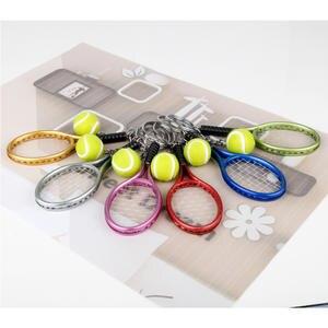 1 Par Mini Chaveiro Badminton//Chaveiro//Pingente Bolsa Premium-Cinza