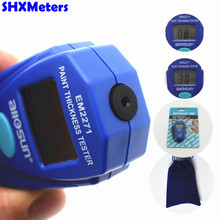 Big discount All-Sun EM2271 Retail Package Digital Mini Car Painting Thickness Tester Paint Thickness Meter Car Auto Coating Thickness Gauge