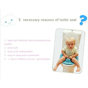 Kids Toilet Seat Baby Safety Toilet Chair Potty Training Seat S7JN 3