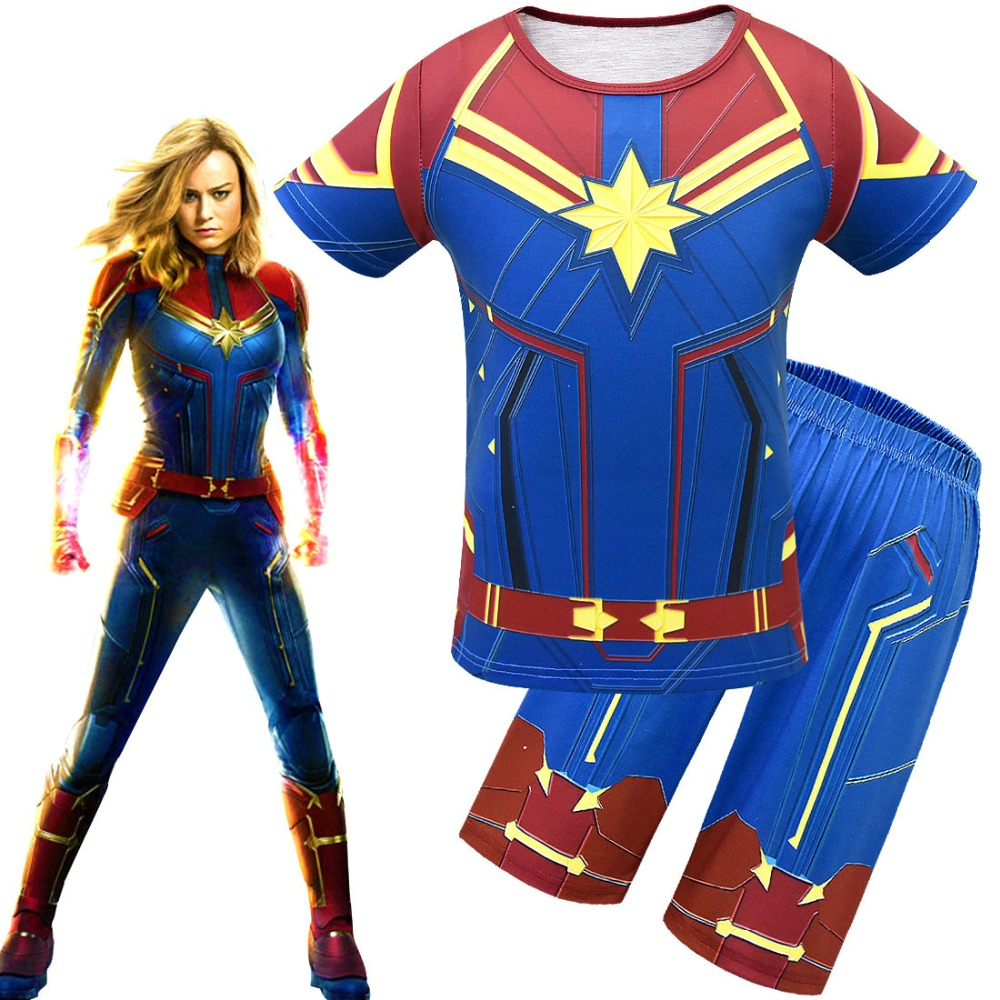 Captain Marvel Costume Kids Cosplay Children S Superhero Party Cosplay T Shirt Short Pant Summer Set For Boy And Girl Buy At The Price Of 13 69 In Aliexpress Com Imall Com Try our free drive up service, available only in the target app. imall