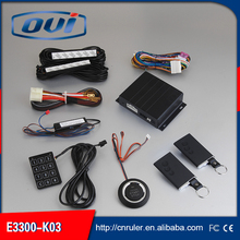 Engine Start Stop Function PKE Engine Start  Push Button Start Car Security One Way Car Alarm System