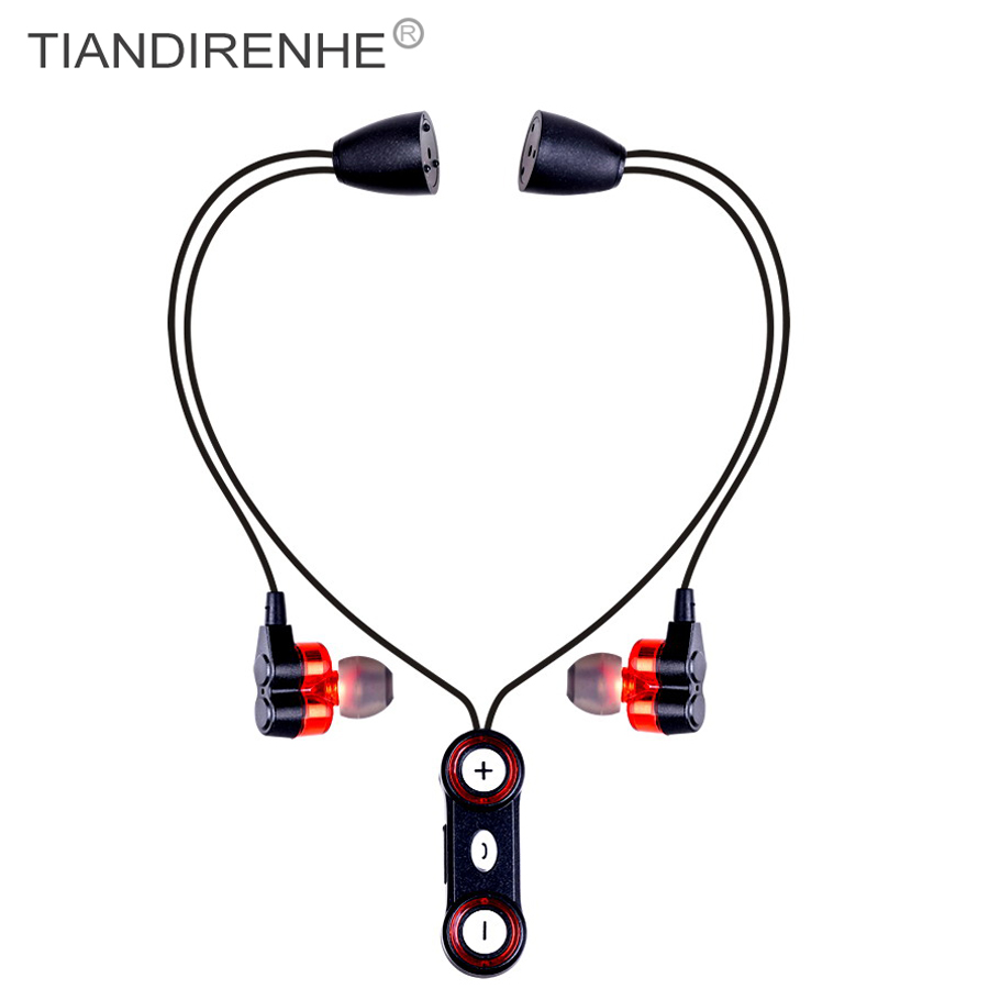Sport Bluetooth Wireless headphone WY-S11 earphone Stereo Bass Earphones Magnetic Clasp Necklace Headset with Mic fone de ouvido bluetooth earphone headphone for iphone samsung xiaomi fone de ouvido qkz qg8 bluetooth headset sport wireless hifi music stereo