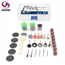 RIJILEI Brand 105PCS BIT SET SUIT MINI DRILL ROTARY TOOL & FIT DREMEL Grinding,Carving,Polishing tool sets,grinder head