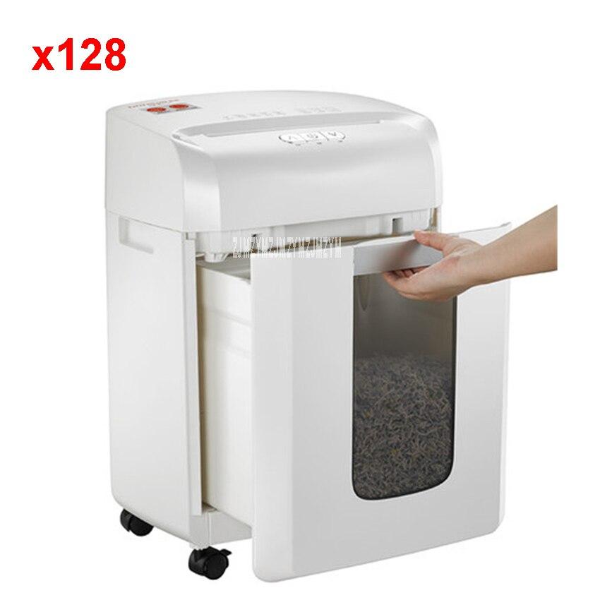 X128 16L Electric Mini Shredder File Shredder Strip Office Home High Power Electric Shredding 220V/250W paper shredder 70g /A4 б у шины 235 70 16 или 245 70 16 только в г воронеже