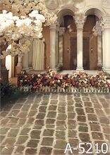 Fundo 200 cm * 150 cm Fundos Fotografia Casa Jardim Da Frente MH15-210