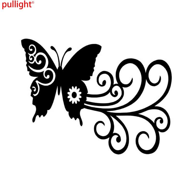 Online Get Cheap Car Butterfly Doors Aliexpresscom Alibaba Group - Butterfly vinyl decals