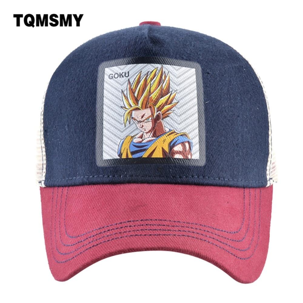 Сетчатые бейсболки TQMSMY унисекс для мужчин и женщин, Мультяшные кепки с мультяшным рисунком, Мультяшные кепки, TMDH98