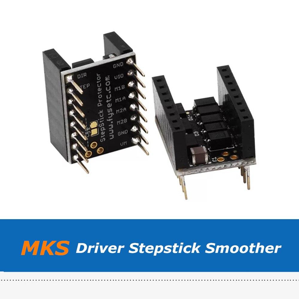 2Pcs 3D Printer Part Silent Step Stick Protector Smoother Jutter Elimination