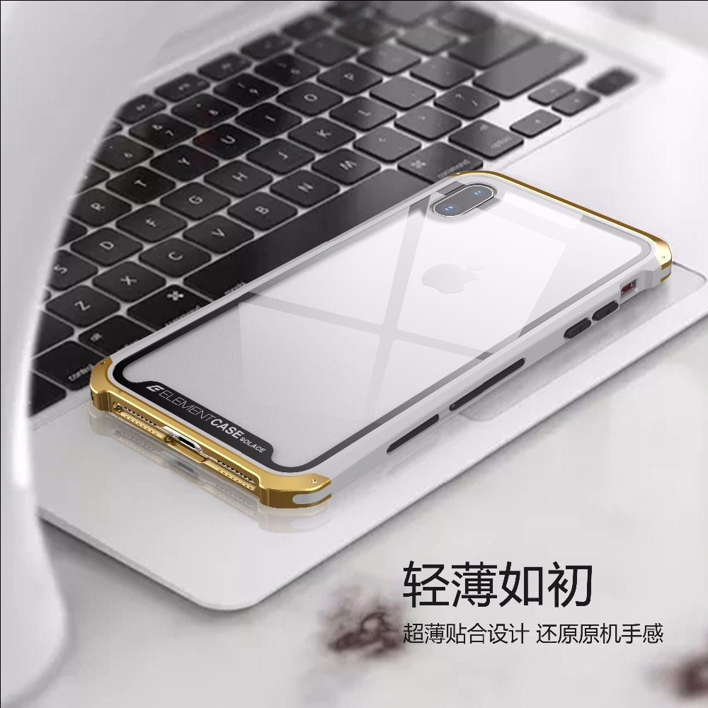 transparent Glass Case For iPhone XR XS MAX Funda Case Frame Bumper Cover For iPhoneXS MAX XR Case Metal  Aluminum Coque Cases