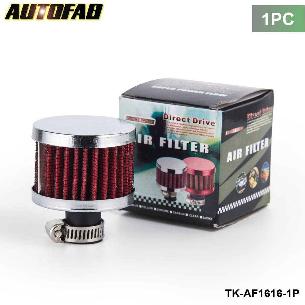 Autofab 1pc universal super power flow air filter 51 51 40 neck about 11mm modified air intake filter for honda crv af af1616 1p