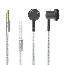 NICEHCK ME80 3,5mm auricular de Metal de alta fidelidad 15,4mm controlador dinámico, auriculares de bajos metálicos, rentable modelo NICEHCK EBX/EB2