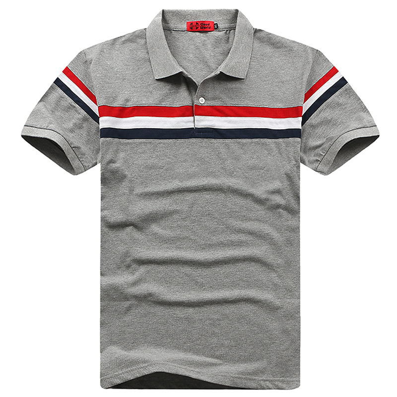 Plus Size 5XL 6XL 7XL 8XL   Polos   Bust 155cm Striped   Polo   Shirt Men Gasp Cotton Short   Polo   Men Big Size XXL XXXL 4XL