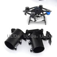 35mm CNC Aluminum Lateral Folding Arm Tube Joint Horizontal Fold for RC Multi Copter Quadcopter Multirotor Drone UAV