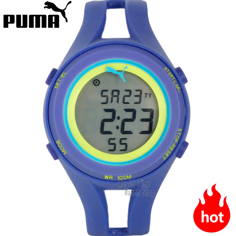 PUMA WATCH sports wind series multi - function LCD electronic male watch PU911171001 PU911171002 PU911171004 PU911171003 puma watch sports wind series multifunctional personality electronic male watch pu910942008 pu910901006
