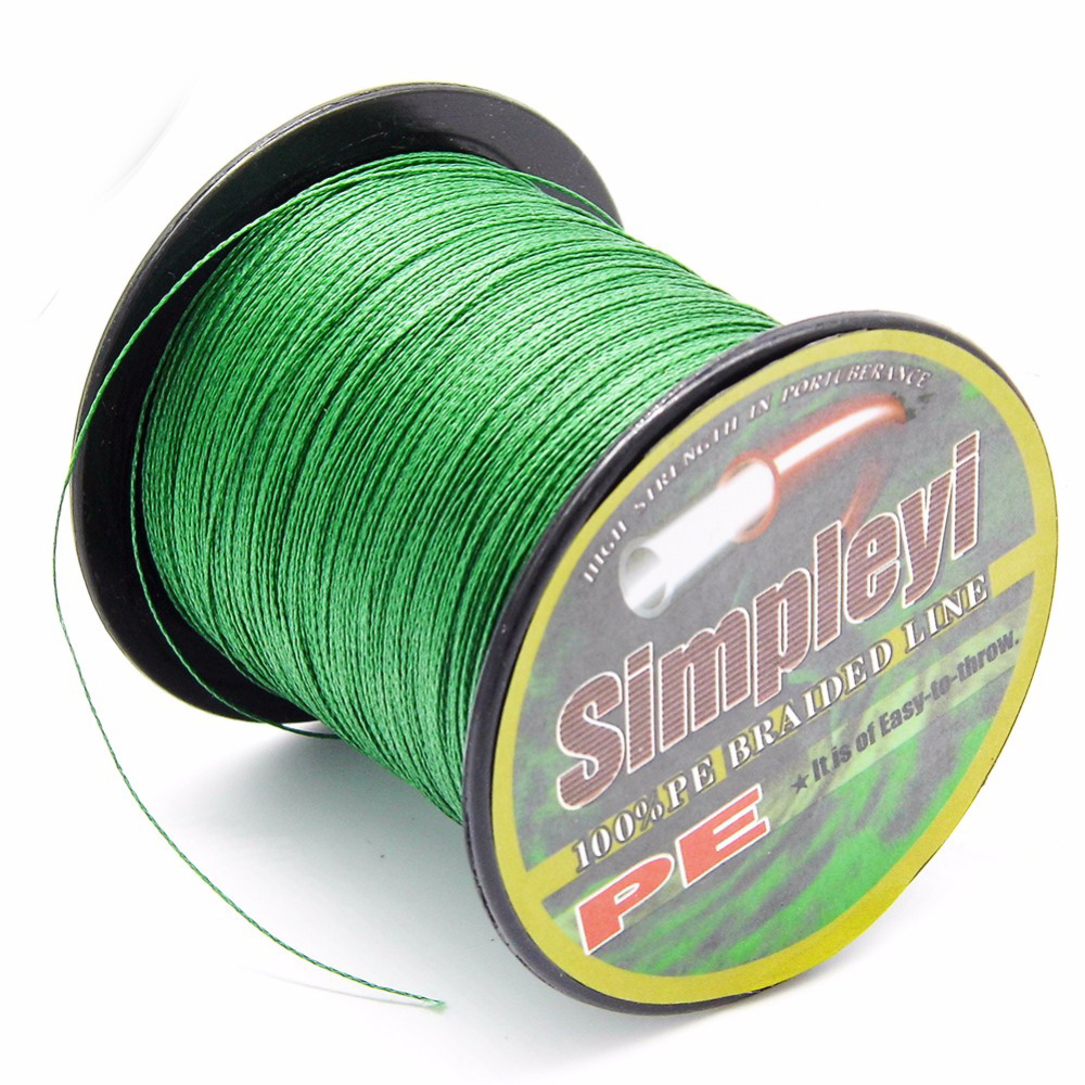 Simpleyi The 100M 6 100LB PE Multifilament Super Braided Fishing Line Carp Fishing For Fish Rope Cord